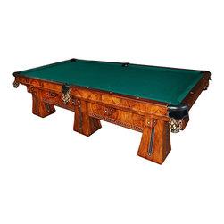 "Brunswick - Antique- Consigned Brunswick Six-Legged ""Kling"" Table - Height: 32 in. (81.28 cm)"