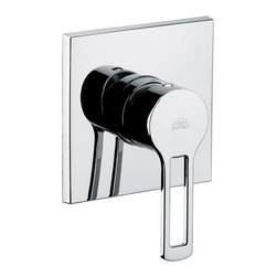 WS Bath Collections - WS Bath Collections Ringo Concealed Shower Mixer in Polished Chrome - Shower Mixer