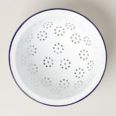 Modern Colanders And Strainers by Falcon Enamelware