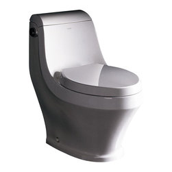 Ariel Bath - Ariel Platinum Adonis Contemporary Toilet - Ariel cutting-edge designed one-piece toilets with powerful flushing system. Its a beautiful, modern toilet for your contemporary bathroom remodel.