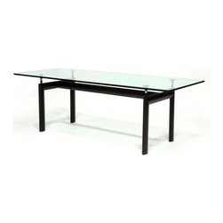 Fine Mod Imports - Modern Dining Table With Black Base - Features: