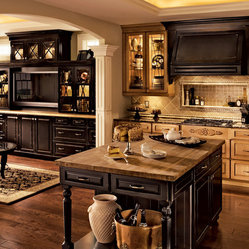 Classic Traditional Kitchen Cabinets Style - Classic Traditional Kitchen Cabinets Style American ...