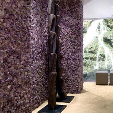 tropical bathroom tile Ametista - Dune - natural amethyst mosaic tile