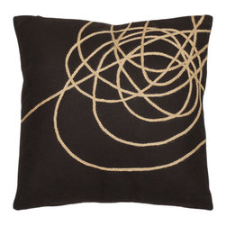 Safavieh Home Furniture - Brown and Tan 18-Inch Decorative Pillows Set of Two - - This fashion forward Thornton 18-inch Brown/ Tan Decorative Pillows (Set of 2) interprets the trend to natural rope embellishments on designer textiles and wall coverings. This is accomplished with a wonderfully-contemporary coiled braid artfully arranged on a ground fabric of smoothly-woven wool and viscose highlighted with a brown background with tan accents.   - Brown / Tan  - Some assembly required - Yes  - Please note this item has a 30-day manufacturer's limited warranty that covers product defects. Inspect your purchase upon delivery and notify us immediately with any concerns. Safavieh Home Furniture - PIL816A-1818-SET2
