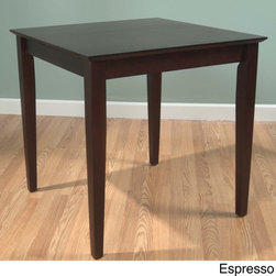 Simple Living - Simple Living Udine Cafe Breakfast Table - Serve your guests breakfast with class at this stylish yet simple breakfast table. This table will pair well with your decor,as it comes in a cute cafe style. It also works well as an end table for your living room.