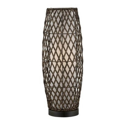 Lite Source - Lite Source LS-22213 Reaves 1 Light Table Lamp - Features: