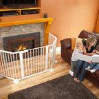 H4 Series Fireplace - Valor H4 with Cardinal VersaGate