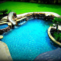 Freeform Custom Pools Dallas Fort Worth -