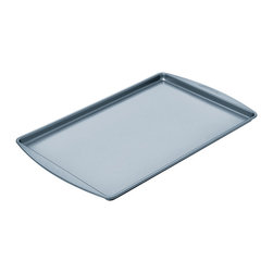 Chicago Metallic - Chicago Metallic Betterbake Nonstick Medium Cookie Pan - Better baking just came your way! Cookies slide off, pastries don't stick, and homemade granola cooks evenly with no burned edges. Find your inner baker and bake!
