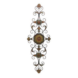 Benzara - Metal Scroll Decor For Everlasting Decoration - Metal SCROLL DECOR creates a feeling of having something unique because of its unique design concept. It is appreciated by all the visitors. This is an excellent anytime low priced anytime wall decor upgrade option. Designed exclusively for limited edition, it can be fixed on any kind of wall surfaces.