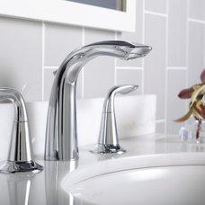 Contemporary Bathroom Sink Faucets by Build.com