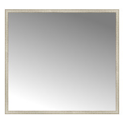 """Posters 2 Prints, LLC - 71"""" x 65"""" Libretto Antique Silver Custom Framed Mirror - 71"""" x 65"""" Custom Framed Mirror made by Posters 2 Prints. Standard glass with unrivaled selection of crafted mirror frames.  Protected with category II safety backing to keep glass fragments together should the mirror be accidentally broken.  Safe arrival guaranteed.  Made in the United States of America"""
