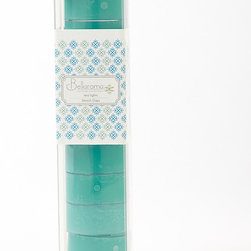 Bellaroma - Beach Days Tealight - Set of Ten - Illuminate mantles, centerpieces and outdoor décor with these tealights that add a touch of festive flair to the scenery.   Includes ten tealights Packaged: 0.25'' W x 8'' H x 0.25'' D Scent: beach days Paraffin wax Made in the USA