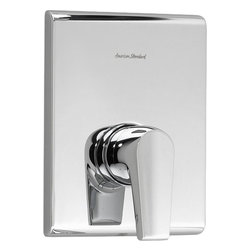 American Standard - American Standard T590.500.002 Studio FlowWise Bath/Shower Trim Kit, Chrome - American Standard T590.500.002 Studio FlowWise Bath/Shower Trim Kit, Polished Chrome. This Bath & Shower trim kit features a metal lever handle, a water saving FloWise 3-function showerhead, and a slip-on diverter tub spout.