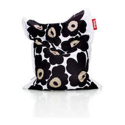 Fatboy Marimekko Unikko Junior Bean Bag - Black