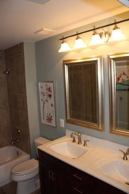 Traditional Bathroom by Redecorate Today