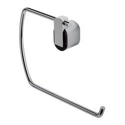 Geesa - Modern Chrome Towel Ring - Towel ring.