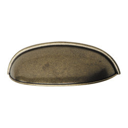 Hafele - Hafele 105.61.100 Bronze Drawer Pulls - Hafele item number 105.61.100 is a beautifully finished Bronze Drawer Pull.