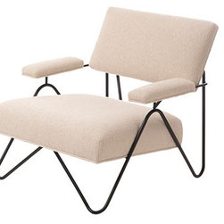 William Haines Malibu Chair - Recently re-released, this iconic modern chair was originaly designed in 1950. Suitable for indoors and out.