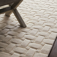 """Woven Textures"" Rug - Horchow"