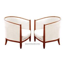 ERA Interiors - Art Deco Barrel Chair - ERA Interiors