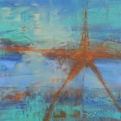 Cynthia Todd Art - Star Fish Painting - Star Fish is a one of a kind original painting by Cynthia Todd.
