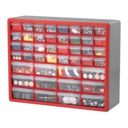 AKRO MILS INC - 10744 44-Drawer Storage Cabinet - Hardware Storage Cabinets