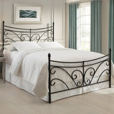 Traditional Beds by Iron Accents