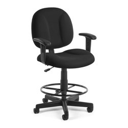 Skutchi - Superchair With Arms And Drafting Kit - Black - SUPERCHAIR WITH ARMS AND DK - TAUPE