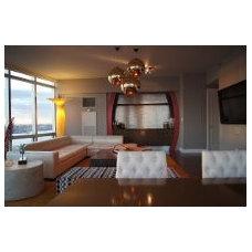 Contemporary Living Room by Khrome Studios