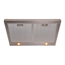 """Cavaliere UC200-30 Stainless Steel - Under Cabinet Range Hood - This stainless steel under-cabinet range hood is available in a 30"""" model at Rangehoodsinc.com. Shipping is always free! Use coupon code: RHIHZ10  for an additional 10% off at checkout."""