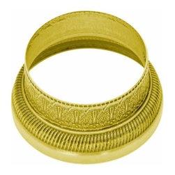 Richelieu Hardware - Richelieu Traditional Brass Full Ring 51mm Polished Brass - Richelieu Traditional Brass Full Ring 51mm Polished Brass
