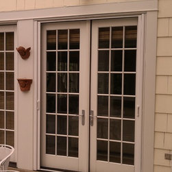 French/Double Doors-Mirage retractable door screens -