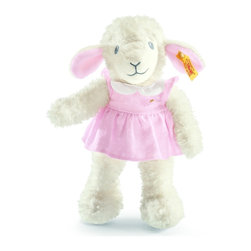 Steiff - Steiff Sweet Dreams Lamb - Steiff Sweet Dreams Lamb is made of plush for baby-soft skin. Machine washable. Handmade by Steiff of Germany.