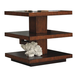 Tommy Bahama Home - Tommy Bahama Home Ocean Club Lagoon Lamp Table - Tommy Bahama Home - End Tables - 010536952