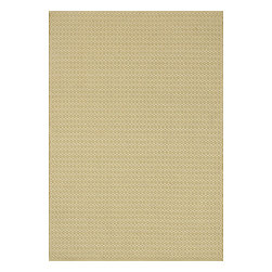 "Loloi Rugs - Flat Weave Terra Indoor/Outdoor Rug TERRTE-05GE00 - 2'-3"" x 3'-9"" - Bring all the indoor appeal of a flat weave - the durability, the versatility, and the texture- to your outdoor space with our Terra Collection. Hand woven in India, Terra comes in great colors like sage, steel, and graphite made to match with today's indoor and outdoor furnishings. And because Terra is made with 100% polypropylene, it can withstand regular sunshine and rain."