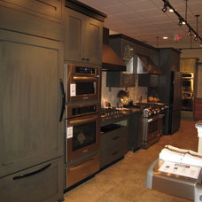 Eclectic Kitchen Cabinetry by Kohl Building Products