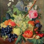 A Basket of Fruit, 1744 | Huysum | Canvas Print - Condition: Canvas Print - Unframed
