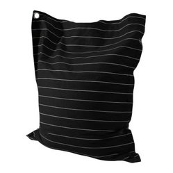 Powell Anywhere Lounger Bean Bag - Wide Pin Stripe