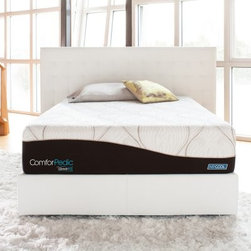 Simmons ComforPedic from Beautyrest Sophisticated Rest Plush Firm Mattress - You get the best of both worlds sleeping on the Simmons ComforPedic from Beautyrest Sophisticated Rest Plush Firm Mattress. This mattress has firm, healing support with a plush, thick foam cushion. Independent support technology provides rows of sculpted cushions that respond independently to your shape and movement. Layers of AirCool memory foam with TruTemp Gel conform to your body while regulating sleeping temperature. AirCool mesh is there to provide superior breathability and airflow. This plush firm mattress comes in several size options. Matching box spring choices are sold separately.About Simmons:One of the world's leading names in the bedding industry, Simmons is known for introducing innovative bedding designs. From their Beautyrest Pocketed Coil technology to their new Recharge Sleep System, Simmons products are designed to help you get a better night's sleep and encourage a smart sleep routine.