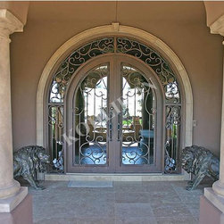 Wrought Iron Doors-Remembrance of Things Past - Brand: KOHLIRON