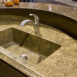 Concrete Kitchen Sink -