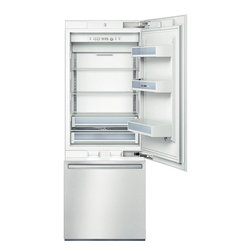 "Bosch Integra 30"" Built-in Bottom-freezer Refrigerator, Stainless 