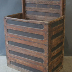 Transformed Vintage Wooden Nautical Crate -