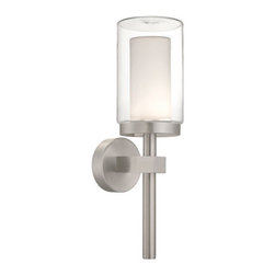 Modern Forms - Modern Forms WS-W1821AL Deco Brushed Aluminum Outdoor Wall Sconce - Modern Forms WS-W1821AL Deco Brushed Aluminum Outdoor Wall Sconce