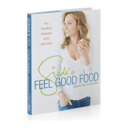 Giada's Feel Good Food Cookbook - Food Network star and bestselling author Giada de Laurentiis shares her insights on eating well and staying fit in this collection of 120 recipes enhanced with nutritional information, and lifestyle and beauty tips. Her delicious breakfasts, juices, lunches, snacks, dinners and desserts are designed to maximize energy and well-being while minimizing fat and calories. Included are vegetarian, vegan, gluten- and dairy-free dishes for restricted diets or simply health-conscious eating. Each recipe is accompanied by a calorie count and nutritional analysis, with color photography illustrating the informative content. She also reveals details on her beauty and exercise regimens, how she handled sugar cravings, what to carry with you at all times, and how to order healthfully when dining out.