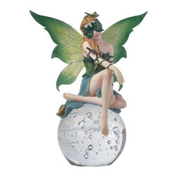 GSC - Fairy Collection Crystal Ball Figure Decoration Collectible - This gorgeous Fairy Collection Crystal Ball Figure Decoration Collectible has the finest details and highest quality you will find anywhere! Fairy Collection Crystal Ball Figure Decoration Collectible is truly remarkable.