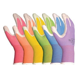 Lfs Glove - Nitrile Touch Gardening Gloves, Pair - Excellent dexterity