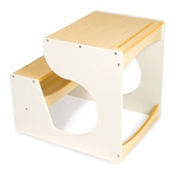 Children's Desk in White - Specially designed for little ones with big ideas, the P'kolino Children's Desk is a child favorite. With it's ample working space for paper, books, and puzzles, it is ideal for project based learning or the budding artist.