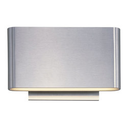 ET2 - ET2 Alumilux Wall Sconce X-AS-01314E - The Alumilux collection of high quality wall sconces are sure to impress. European inspired design, machined out of blocks of solid aluminum, give these sconces both the look and quality expected for the discriminate buyer. High powered LEDs drive the light in dramatic fashion and many are approved for wet location applications.